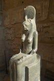 GudinnaSekhmet staty Royaltyfri Fotografi