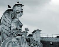 gudinnaskulptur Royaltyfria Bilder