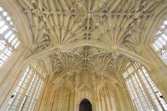 Gudomskola i Oxford arkivbild