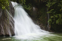 Gudong Waterfalls in China Royalty Free Stock Photo