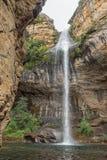 Gudu falls near Mahai in the Kwazulu-Natal Drakensberg. The Gudu falls near Mahai in the Kwazulu-Natal Drakensberg Royalty Free Stock Photos