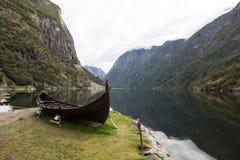 Gudvangen norwegen Lizenzfreie Stockfotografie