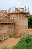 Guedelon castle Royalty Free Stock Images