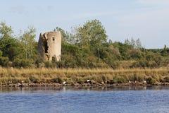 Gueffard mill (Ile d'Olonne - France) Stock Image