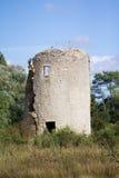 Gueffard mill (Ile d'Olonne - France) Royalty Free Stock Photos