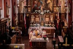 Guegel Chapel at Easter Monday 2015 Stock Photos