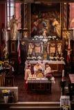 Guegel Chapel at Easter Monday 2015 Royalty Free Stock Photos