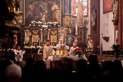 Guegel Chapel at Easter Monday 2015 Royalty Free Stock Photography