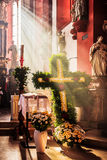 Guegel Chapel at Easter Monday 2015 Royalty Free Stock Images