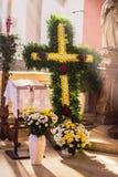 Guegel kapell på påsken måndag 2015 Royaltyfri Fotografi