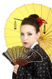 Gueixa japonesa Fotos de Stock