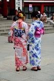 Gueixa Tokyo Japan do quimono fotografia de stock