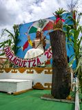 Guelaguetza的大使2017年 免版税图库摄影