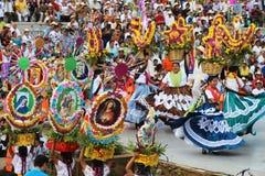 Guelaguetza festival, Oaxaca, 2014 Royaltyfria Foton
