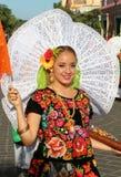 Guelaguetzafestival, Oaxaca, 2014 Stock Foto's