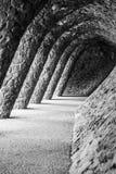 Guell公园 免版税库存照片