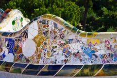 Guell парка Стоковое Фото