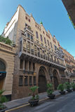 Guell Palace Barcelona Spain Royalty Free Stock Photography