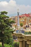 guell parc barcelona Zdjęcia Royalty Free