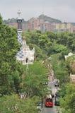 guell parc barcelona Fotografia Royalty Free