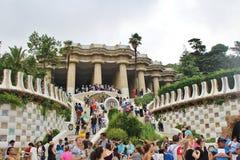 guell parc barcelona Fotografia Stock
