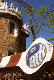 guell park Fotografia Royalty Free