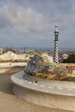 Guell park Royalty Free Stock Images