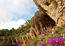 Guell park Stock Photo