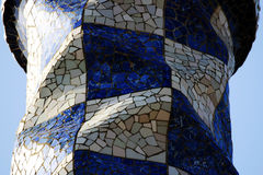 guell park Obraz Royalty Free