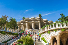 Guell-Park Stockfoto