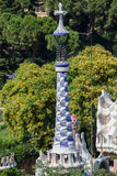 Guell Park Barcelona Catalunia Spain Royalty Free Stock Photo