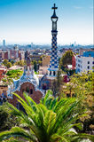 Guell park, Barcelona Stock Photography