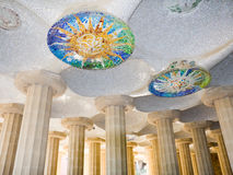 Guell Park, Barcelona, Spain. Royalty Free Stock Photography
