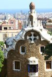 Guell park in Barcelona Royalty Free Stock Photo