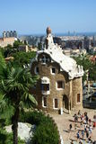 Guell park in Barcelona Royalty Free Stock Image