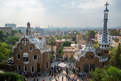 Guell park Royalty Free Stock Photography