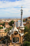 Guell park gingerbread house Stock Image