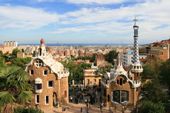 Guell park gingerbread  house Royalty Free Stock Image