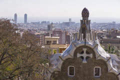 Guell Park Stock Photography