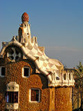 guellpark för 09 barcelona Arkivbilder