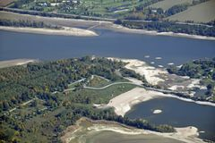 Guelph湖保护 图库摄影