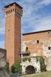 Guelph torn och Medici citadell i Pisa Royaltyfria Bilder