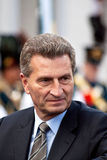 Guenther Hermann Oettinger Royalty-vrije Stock Foto's