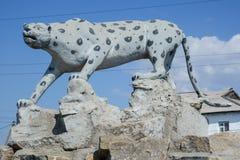 Guepardo de la escultura Foto de archivo