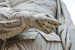 Guercino Marble Statue. Cento. Emilia-Romagna. Italy. Royalty Free Stock Image