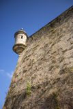 Guerite. Guerite, a wall-mounted turret in San Juan, Puerto Rico Royalty Free Stock Image