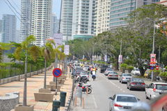 Guerneyaandrijving Penang Stock Foto