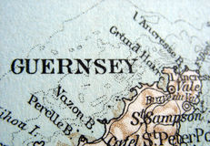 Guernsey. The way we looked at Guernsey in 1949 Royalty Free Stock Images