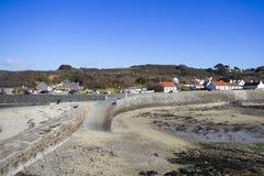 Guernsey coastline Stock Photos