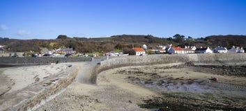 Guernsey coastline Royalty Free Stock Photography